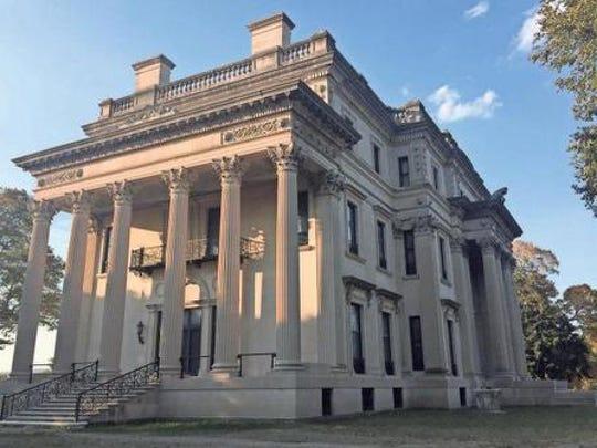 The Vanderbilt Mansion National Historic Site in Hyde Park.