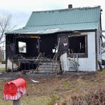 Family of four escapes house fire