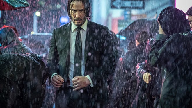 "Keanu Reeves' work from ""John Wick 3"" is not complete. There is a fourth chapter in the works."