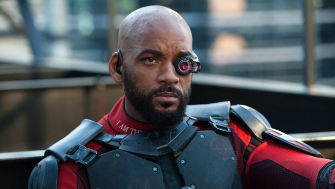 """Will Smith in a scene from """"Suicide Squad."""""""