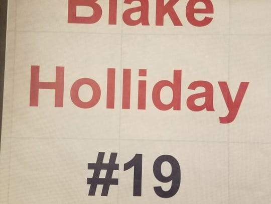 St. James is set to honor the late Blake Holliday this