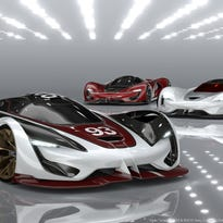 Fiat Chrysler has created a digital concept car for the Gran Turismo 6 video game. The SRT Tomahawk Vision Gran Turismo will be available in three powerful versions – S, GTS-R and X.