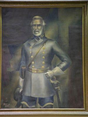 A portrait of Gen. Robert E. Lee