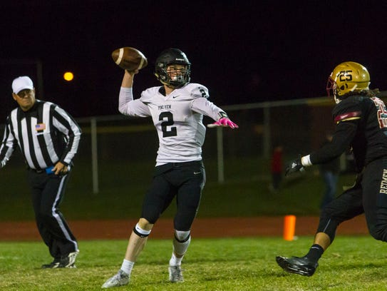 High school football: Pine View at Cedar, Wednesday,