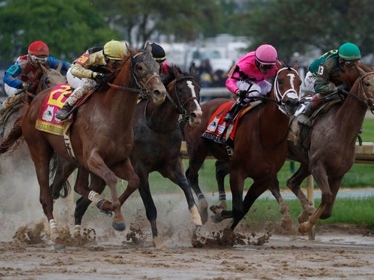 The Kentucky Derby ended in a disqualification.
