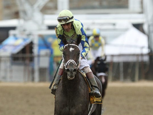 USP HORSE RACING: 142ND PREAKNESS STAKES S RAC USA MD