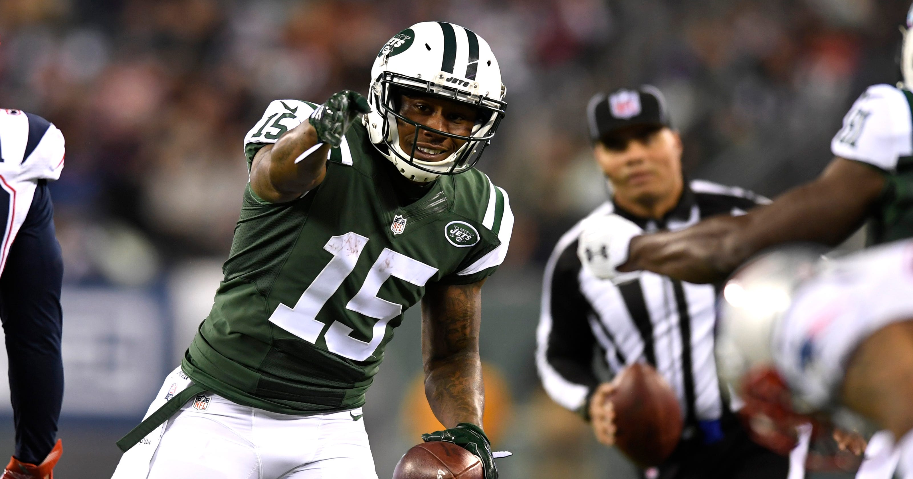 online store 28a0d c504a Jets WR Brandon Marshall won't play vs Bills