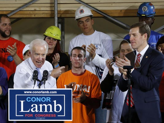 Joe Biden, Conor Lamb