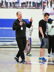 St. Cloud area Thunder adaptive soccer coach Mike Bakken