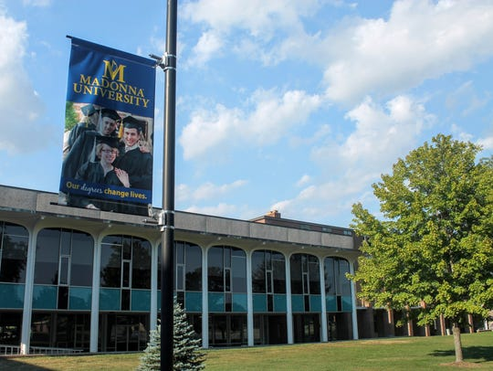 Madonna University will hold a groundbreaking ceremony Sunday for a new building, though the college isn't sharing what that building will be for yet.