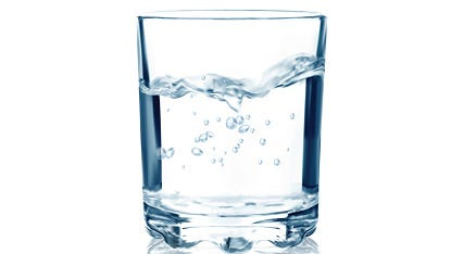 Drink water to stay healthy.