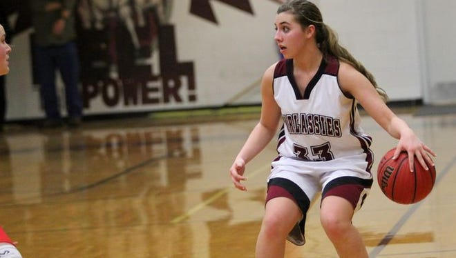 Taylor Lovci and the Owen girls are the No. 3 seed for next week's Western Highlands Conference girls basketball tournament.