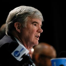 """More graduate than the students who aren't student-athletes,"" said NCAA President Mark Emmert."