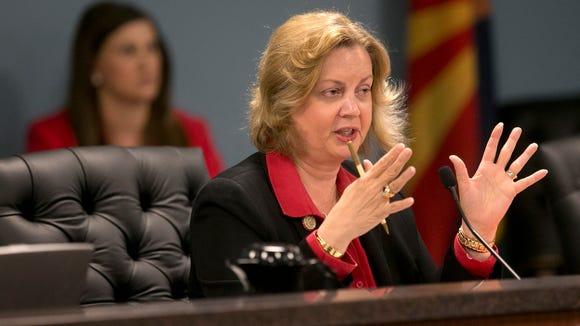 Arizona Corporation Commission Chairwoman Susan Bitter