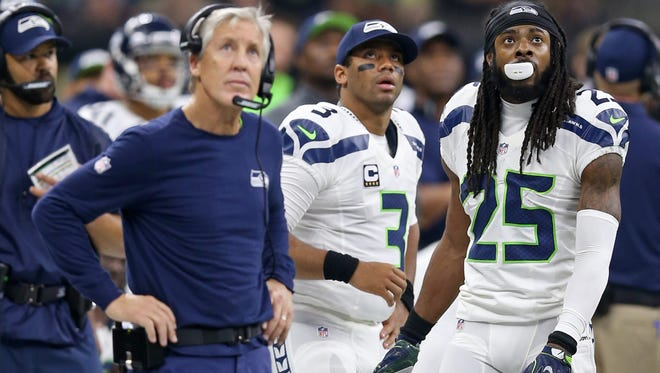 Pete Carroll, Russell Wilson and Richard Sherman await the Bills in Seattle.