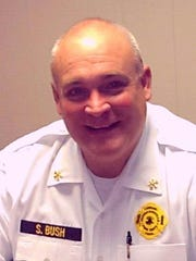 Hendersonville Fire Chief Scotty Bush
