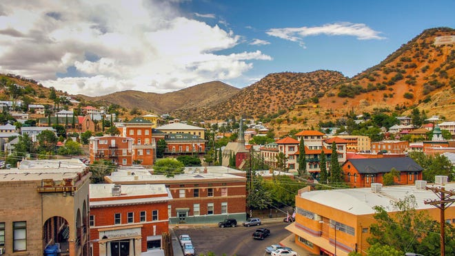 View of Bisbee.