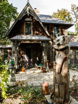 Joeann Genetti's house is called the 'witch house' by neighbors.