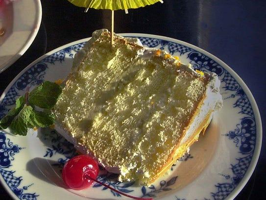 Sunshine Cake from Watts Tea Room has been popular