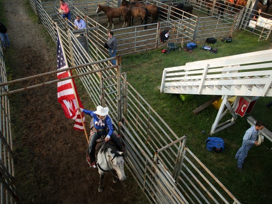 The Mid-Western Rodeo in Manawa is a Fourth of July weekend tradition. It opens Thursday night and rolls through Saturday.