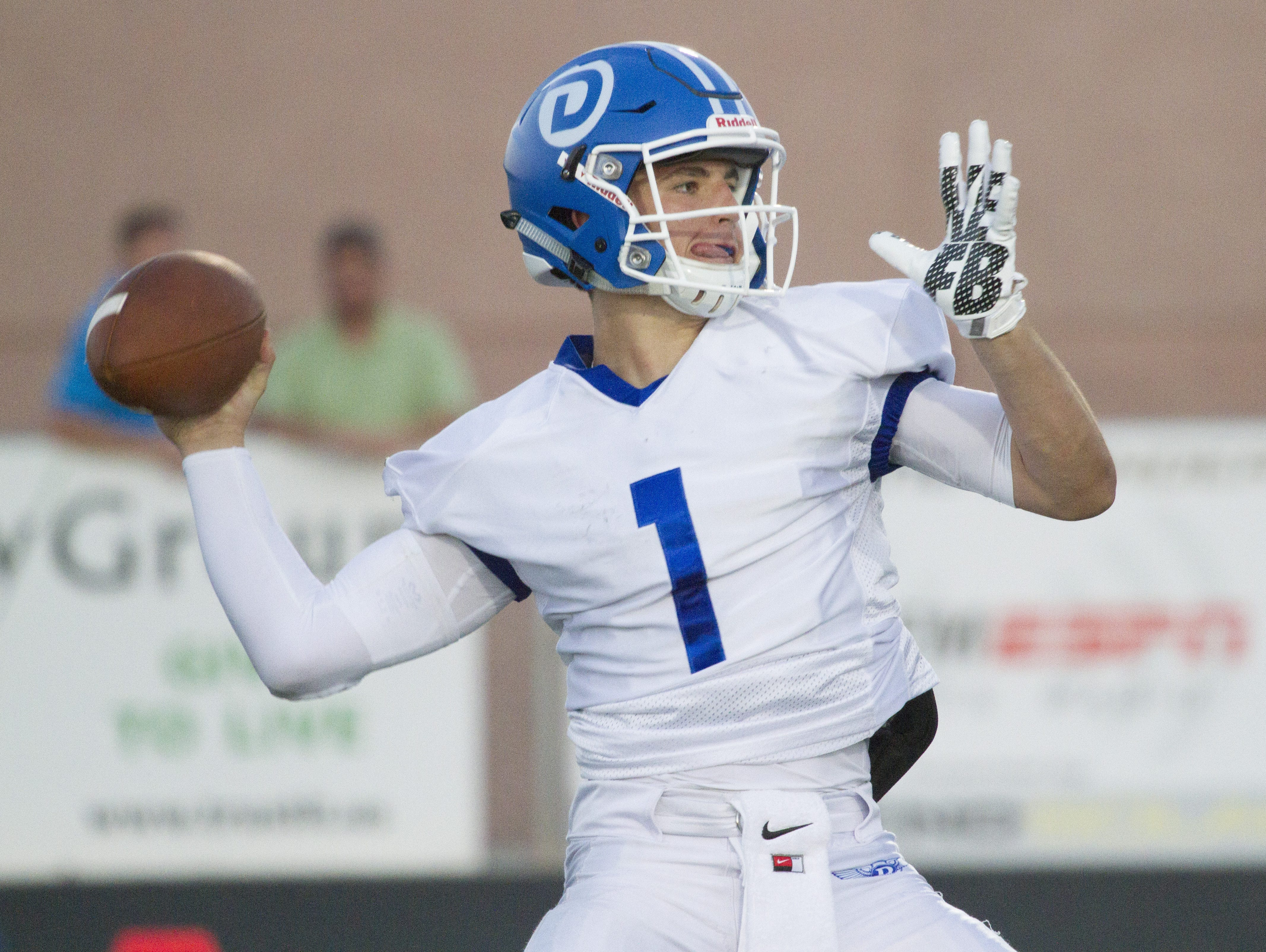 Dixie senior quarterback Zak Harrah has the Flyers at 5-1 on the year and in first place in 3AA South.