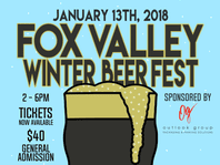 Frosted mug not needed to keep your craft beer cold at the Fox Valley Winter Beer Fest