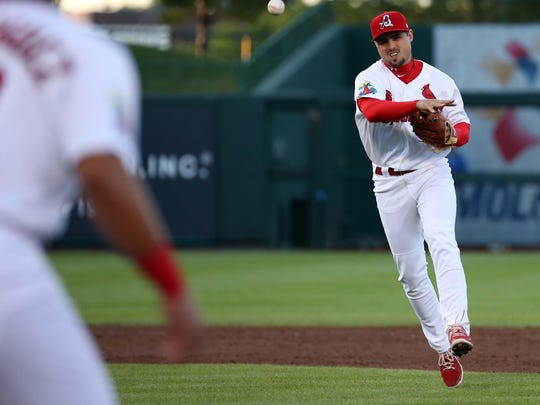 Aledmys Diaz is continuing to shine after being promoted to Triple-A Memphis.