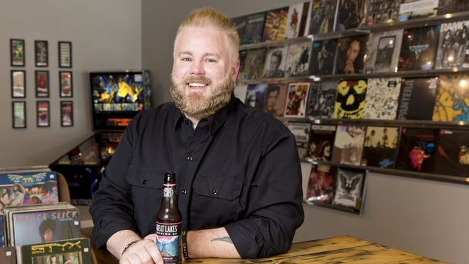 Troy Stacy of Craft & Vinyl photographed in 2018