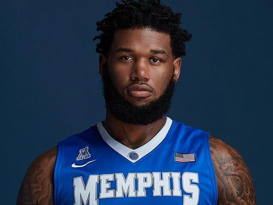 Memphis junior Mike Parks, Jr.