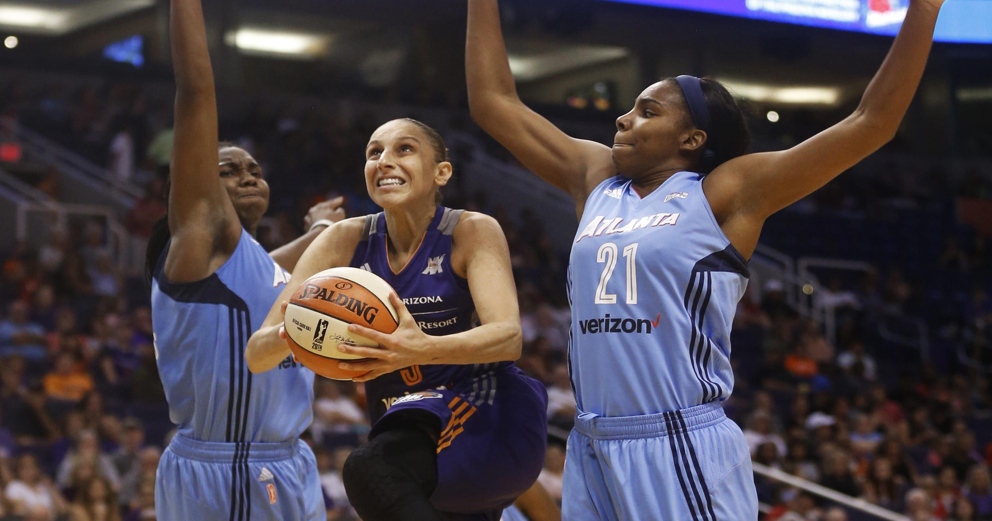 0a292fb334c7 Phoenix Mercury beat Atlanta to near WNBA playoff berth