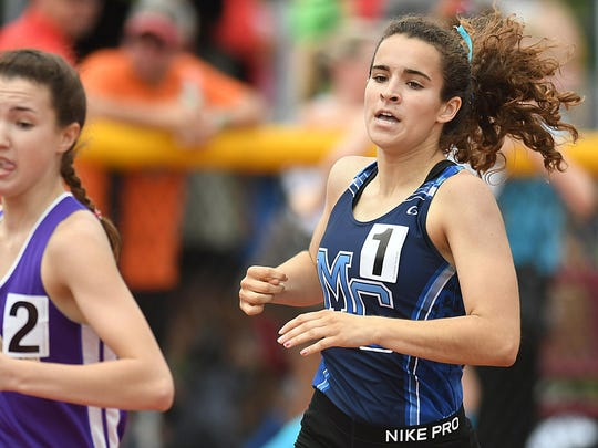 Morris Catholic's Kate McAndrew wins the Non-Public