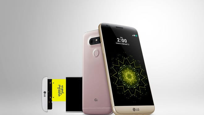 Some smartphones, like the new LG G5, let you swap out the internal battery with a fresh one.