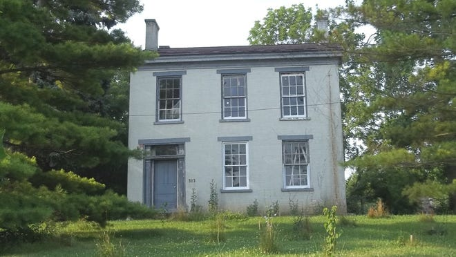 History professor Ronald Morris is restoring Oliver P. Morton's former home on U.S. 40 West in Centerville.