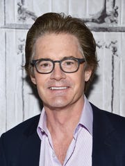 Kyle MacLachlan attends the AOL BUILD Speaker Series