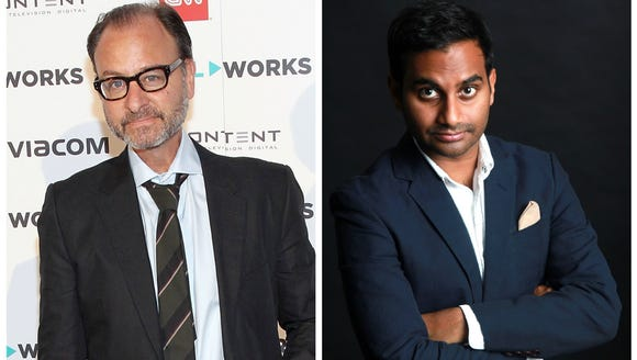 Stevens spoke to Ansari about his role in 'Short Circuit