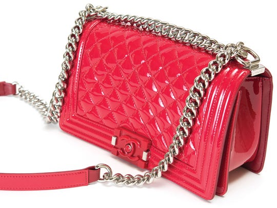 """Chanel bag: """"I'm obsessed with Chanel patent leather."""