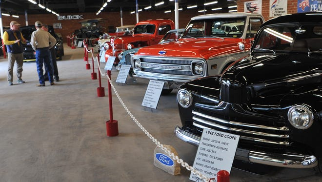 Patterson's Crazy Car Museum, 1602 Midwestern Pkwy., will be open on Saturdays from 10 a.m. to 2 p.m. and will feature several classic cars, trucks and other types of automobiles.