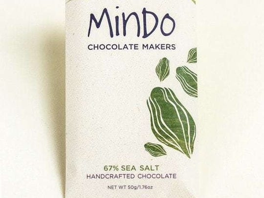 Chocolate by Mindo Chocolate Makers.
