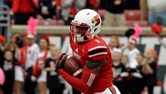 Louisville wide receiver DeVante Parker.