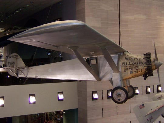 The Spirit of St. Louis now hangs in the Smithsonian's National Air and Space Museum in Washington, D.C.