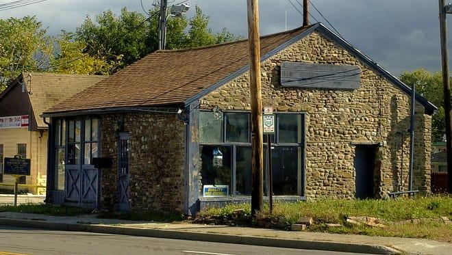 The Cobblestone Blacksmith Shop at 2025 E. Ridge Road in Irondequoit in 2007.