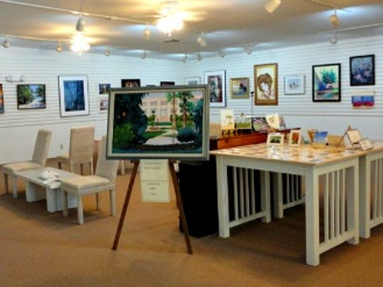 The Art League building hosts art shows and events