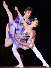 Juliet Doherty as the Sugar Plum Fairy, with Slawomir