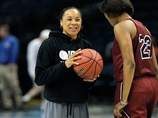 NCAA Womens Basketball: Final Four Practice-South Carolina