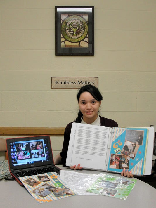 Mother Seton student is tops in New Jersey