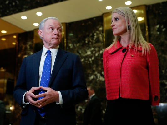 Jeff Sessions, Kellyanne Conway