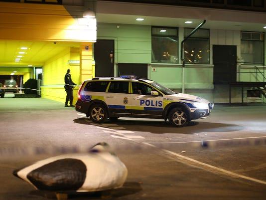 EPA SWEDEN CRIME SHOOTING GOTHENBURG CLJ CRIME SWE