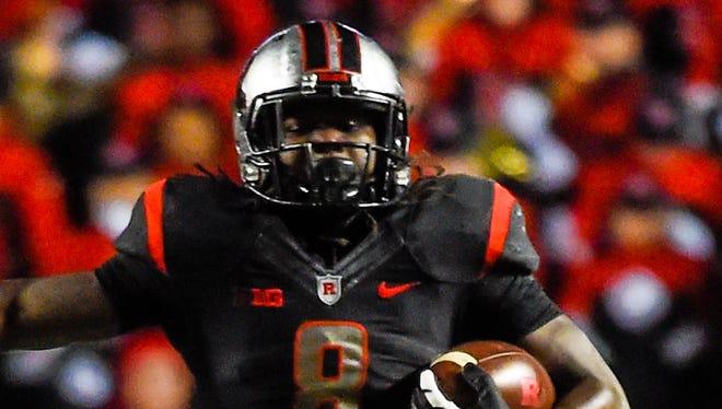 Rutgers RB Josh Hicks
