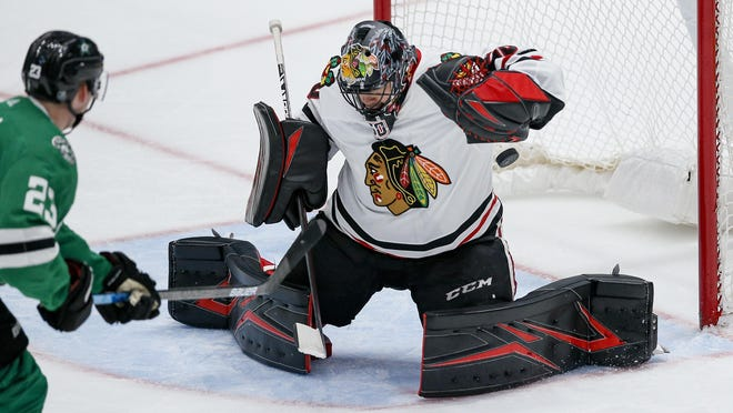 Chicago Blackhawks goaltender Corey Crawford will be one of the most important players in the Western Conference qualifier series set to begin Saturday.