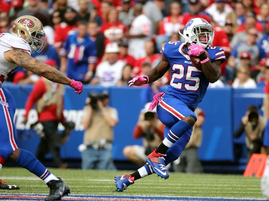 Bills running back LeSean McCoy is expected to be back after missing the last game and a half with a hamstring injury.